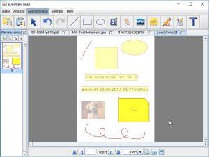 Trotz unterschiedlichster Dokumentformate werden alle Markuptypen und Annotationen in gleicher Weise verwendet und angebracht.